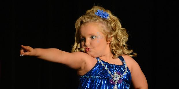 Alana Thompson, aka Honey Boo Boo Child. Photo / Supplied
