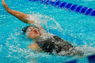 New Zealand swimmer Melissa Ingram took out the women's 200m backstroke on the first day of the FINA World Cup in Tokyo today. Photo / Getty Images.