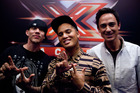 X Factor: Chris Rene, Stan Walker and Dominic Bowden. Photo / Supplied