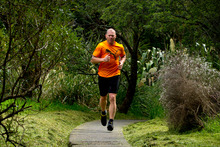 Shane Cameron includes a daily jog in the run-up preparation for his upcoming fight with Australian Danny Green. Photo / Brett Phibbs