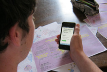 A Kiwi education company has developed a mobile-ready application to help high school students swot for NCEA exams. Photo / Supplied