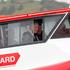 His Royal Highness The Prince of Wales travels on a Coastguard boat on the Waitemata Harbour. Photo / Greg Bowker
