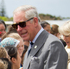 The Prince of Wales and The Duchess of Cornwall farewell keen royals that came to see them at the Millennium Sports Institute. Photo / Greg Bowker