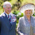 The Prince of Wales and the Duchess of Cornwall with kaumatua Lewis Moeau and kuia Hiria Hape during the Maori challenge at the Diamond Jubilee welcome ceremony at Government House in Wellington. Photo / Mark Mitchell