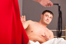 A woman is splitting from her husband because he refused to relive scenes from Fifty Shades.Photo / Thinkstock