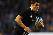 Dan Carter set the All Blacks alight in Edinburgh, elevating his team from functional to outstanding. Photo / Getty Images