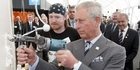 Watch: Royal Visit: Prince Charles promotes wool