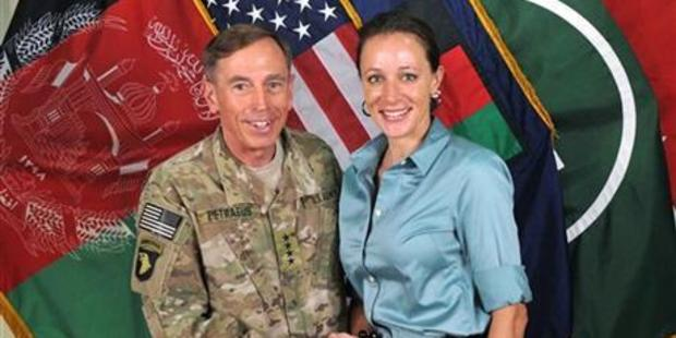 Gen. Davis Petraeus with Paula Broadwell. Photo / AP
