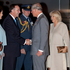 John Key welcomes Prince Charles, Prince of Wales and Camilla, Duchess of Cornwall as they arrive at RNZAF Base Auckland, Whenuapai. Photo / Herald on Sunday