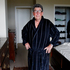 Broadcaster Paul Holmes at his apartment in the Auckland suburb of Ellerslie. Photo / APN