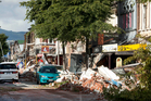 Christchurch firms suffered when insurance cover proved inadequate. Photo / Simon Baker