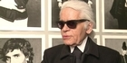 Watch: The 'little black jacket', Lagerfeld's photo show