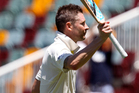 Michael Clarke has praised the comeback of his entire bowling attack in the drawn first Test. Photo / Getty Images.