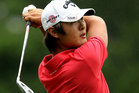 New Zealand No1 Danny Lee fired a one-over par 73 at the Bear Creek Golf Club, in round two of the second stage of PGA Tour Qualifying in California today. Photo / Getty Images.