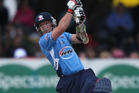 Auckland Aces captain Gareth Hopkins. Photo / Getty Images.