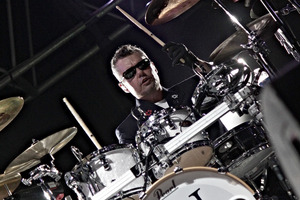 INXS drummer Jon Farriss announced the band's show at Perth Arena on Sunday was their last. Photo/supplied