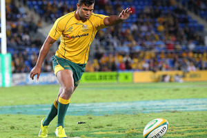 Kurtley Beale will face court over an assault charge in Brisbane next year following an incident in June involving a bouncer at a city hotel. Photo / Getty Images.
