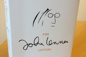 The cover of The John Lennon Letters.Photo / Supplied