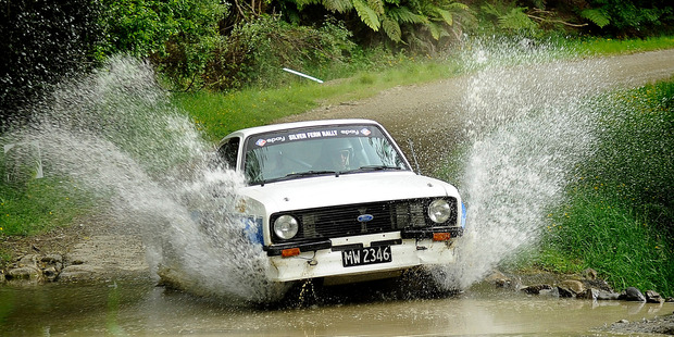 Shane Murland finished yesterday leading the historic category after three famously tough stages. Photo / Geoff Ridder