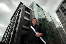 Aecom has taken up a nine-year lease in Brett Russell's new office block. Photo / Brett Phibbs