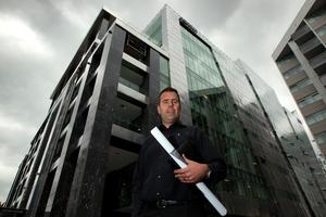 Aecom has taken up a nine-year lease in Brett Russell's new office block. Photo / Brett Phibbs