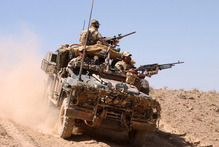 Surveillance reconnaissance vehicles have played a key part in the Australian effort in Afghanistan. Photo / AP