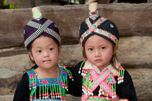 Laos is famous for silk and cotton woven textiles. Photo / Getty Images
