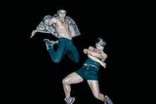 Atamira Dance Company 2012: Mark Bonnington and Nancy Wijohn in Jack Gray's Mitimiti