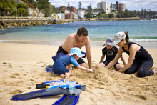 Shelly Beach at Manly is great for families. Photo / Tourism NSW