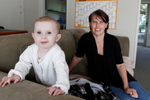 Simone Stevenson, pictured with daughter Rubi Kerr, is one of those leading the charge for changes to postnatal services for new mothers. Photo / Christine Cornege