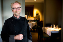 Head chef and owner of Antoine's restaurant in Parnell, Tony Astle. Photo / Babiche Martens
