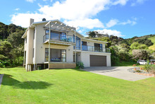 Cabin 21, 1116 Takatu Road, Waikauri Bay, Matakana. Photo / Supplied