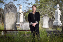 Barbara Harvey has walked in Waikumete Cemetery for 15 years and calls it her favourite place. Photo / Natalie Slade