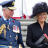 Prince Charles and his wife Camilla at the Auckland War Memorial Museum's ceremony to mark Armistice Day. Photo / Greg Bowker