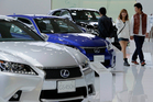 A territorial dispute has hurt sales of Japanese cars in China. Photo/ AP