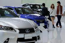 A territorial dispute has hurt sales of Japanese cars in China. Photo/ AP