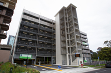 The controversial $14m parking building. Photo / Kellie Blizard