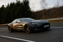 The Aston Martin marque is a familiar sight to the many James Bond fans. Photo / Supplied