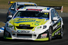 The V8 SuperTourers, have stolen a march on the national championship with a full driver field and some good racing. Photo /  Supplied