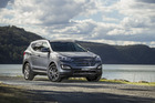 Hyundai Santa Fe elite diesel. Photo / Supplied