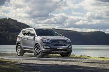 Hyundai Santa Fe elite diesel. Photo / Supplied