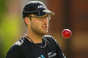 Daniel Vettori has plenty of rehabilitation ahead.  Photo / Getty Images