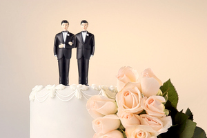 A select committee has begun hearing the more than 20,000 submissions on a bill to legalise gay and transgender marriages.  Photo / Getty Images