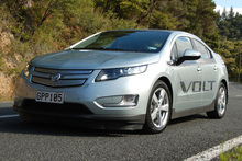 Holden's Volt lets you appreciate the quietness of nature. Photo / Jacqui Madelin