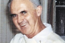 Former priest Denis McAlinden was defrocked following sexual abuse allegations involving minors in Australia. He spent six months in Tokomaru Bay's church. Photo / Supplied