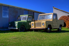 The boxy low-tech Trekka was a surprise Kiwi automotive success story in in the 1970s. Photo / Raizer Images, Flickr 