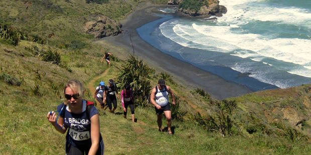 The West Coaster incorporates amazing views above Bethells Beach, west of Auckland. Photo / Totalsport.co.nz