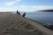 Remarkable sand dunes, unhurried roads and welcoming hosts are just some of the features of Port Waikato. Photo / Supplied