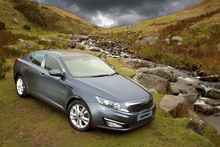 Kia is widening the Optima's appeal to private and business buyers. Photo / Supplied
