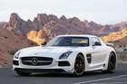 The new Mercedes-Benz SLS AMG Black Series could be available in New Zealand late next year. Photo /  Supplied